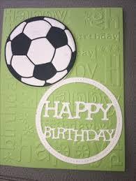 handmade greeting card soccer birthday card son daughter