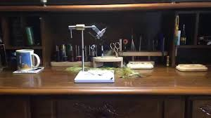 Oasis Fly Tying Benches Fly Tying Bench With New Vacuum System Youtube