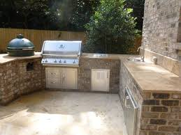 rustic outdoor kitchen ideas rustic outdoor kitchen island dominated by brick accent equipped