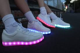 light up sneakers full moon fluo shoes
