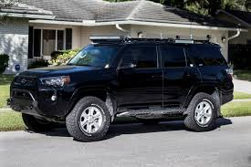 toyota jeep black 2014 4runner rock sliders c4 fabrication