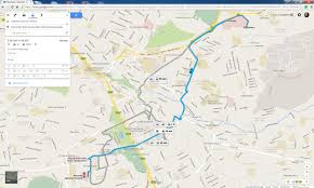 Google Maps Route Maker by Map U0026 App Help People Track Transit In Nairobi