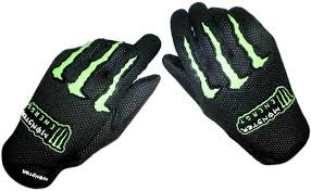100 motocross gloves monster biker riding gloves l green buy monster biker riding