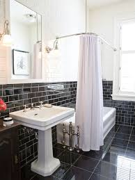 black tile bathroom ideas traditional black tile bathroom ideas designs remodel photos