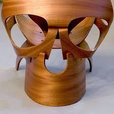 Wooden Skull Chair The Skull Chair By Vladi Rapaport Designwrld