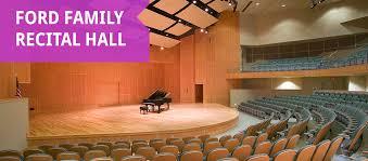 ford family ford family recital deyor performing arts center
