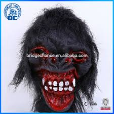 Funny Face Halloween Masks New Design Funny Wholesale Scary Grimace Mask Scary Halloween Mask