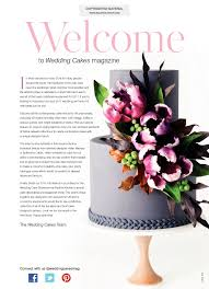 wedding cakes magazine spring 2017 squires kitchen shop cake
