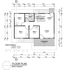3 Bedroom House Plans One Story One Bedroom Cottage Floor Plans One Bedroom Floor Plan Photo 6