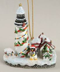 danbury mint christmas lighthouse ornaments at replacements ltd