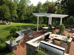 outdoor living ideas back yard landscaping ideas for large yards