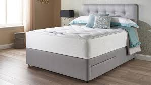 Mattress Bed Bedroom Furniture Sets Contemporary Bedside Table Complete Bed