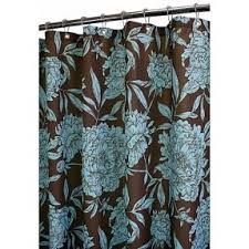 Gray And Teal Shower Curtain Aqua And Brown Shower Curtain Springfield Luxury Chocolate Brown