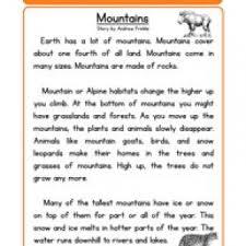 2nd grade reading worksheet page 3 of 4 have fun teaching