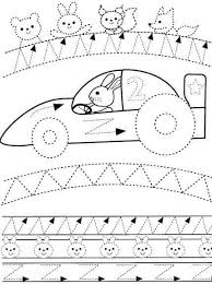 free worksheets tracing pages for preschoolers free math