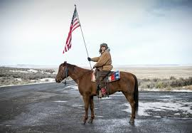 Horse With American Flag Oregon Standoff A Chronicle Of An Occupation Burns Oregon