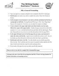 cover letter mla format sample essay apa format resume cv cover