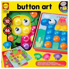 amazon com alex toys little hands button art toys u0026 games