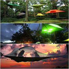 these hammock tree tents are seriously the coolest camping tents