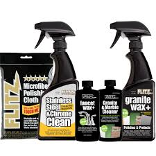 kitchen bath cleaning products stainless steel granite marble