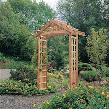 Arbors And Trellises Nantucket Garden Arbor 820 1999 1