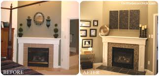 Fireplace Cover Up Diy Fireplace Makeovers Faux Mantels U0026 Shelves