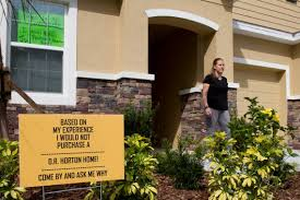east manatee homebuyers speak out over d r horton construction
