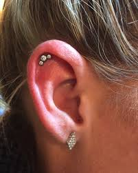 diamond cartilage piercing 90 ways to express your individuality with a cartilage piercing