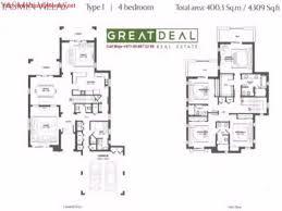 Yasmin Floor L 4 Bed M Type 4 Villa In Yasmin Arabian Ranches W Payment Plan