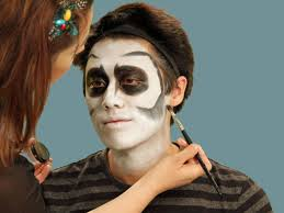 Black Eye Makeup For Halloween Halloween Makeup Tutorial Skeleton Hgtv