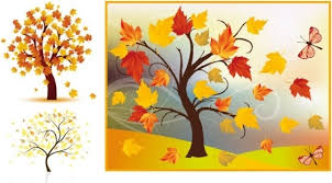beautiful autumn tree banners vector free vector in encapsulated