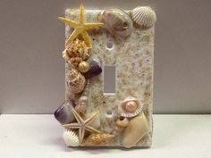 beach light switch covers seashell light switch plate for beach themed bathroom jennifer