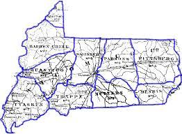 Md County Map 1876 Wicomico County Maryland