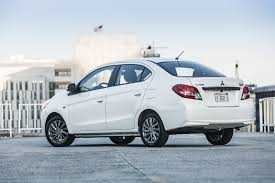 mitsubishi mirage sedan 2018 mitsubishi mirage adds new 7 0 inch infotainment system