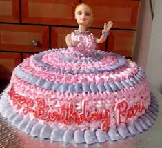 doll cake doll cake blooming flowerz