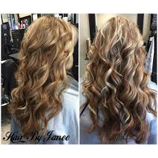 blonde highlights with honey lowlights by janee a wild hair salon