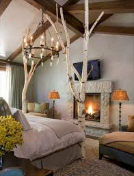 Tree Branch Decor Bedroom Amazing Bedroom Design With White Tree Branch Bed Frame