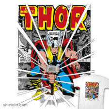 thor s mighty hammer shirtoid