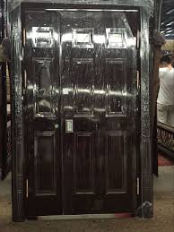 Safety Door Designs Iron Safety Door Design 32 X 79 Exterior Safety Door For Home