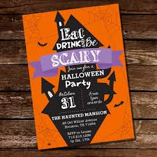 scary halloween party invitations halloween party ideas you u0027ll love u2013 sunshine parties