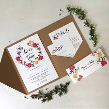 pocket fold pocketfold wedding invitation by tigerlily wedding stationery