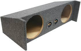 jeep wrangler speaker box custom jeep wrangler yj tj 87 06 dual subwoofer enclosure bass