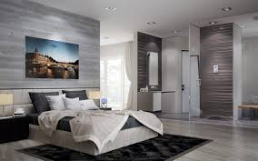 Small Master Bedroom With Ensuite Open Plan Ensuite Bathroom Interior Design Ideas