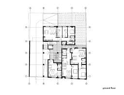 floor plan of an office gallery of residential building in vase staji c3 a4 c2 87a street