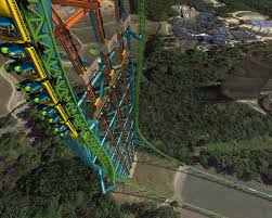 New York Six Flags Great Adventure Six Flags U0027 New Ride Will Drop You 400 Feet Probably Make You Cry