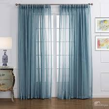 Sheer Blue Curtains New Style Popular Pretty Blue Custom Sheer Curtain Sheer