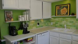 Green Backsplash Kitchen Kitchen Tile Backsplash Ideas Design Friv Faux Green