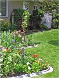 Backyard Slope Landscaping Ideas Backyards Chic Backyard Garden Design Ideas 102 Small Landscape