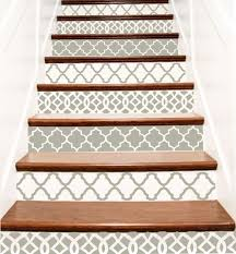 decorative stair risers stairs design ideas