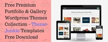 top 5 premium u0026 free wordpress portfolio themes theme junkie